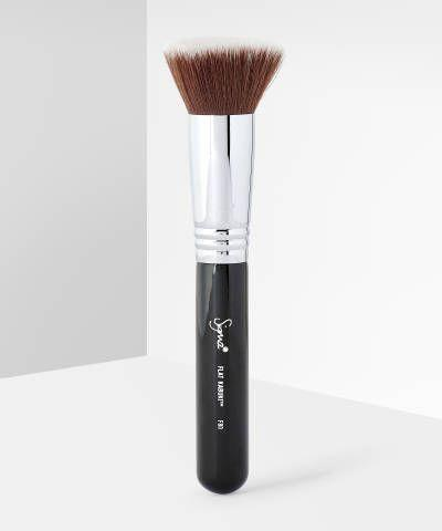 """<p><strong>Sigma Beauty</strong></p><p>beautybay.com</p><p><strong>$21.75</strong></p><p><a href=""""https://go.redirectingat.com?id=74968X1596630&url=https%3A%2F%2Fwww.beautybay.com%2Fp%2Fsigma-beauty%2Ff80-flat-kabuki-brush%2F&sref=https%3A%2F%2Fwww.redbookmag.com%2Fbeauty%2Fg36983460%2Fmakeup-for-latinas%2F"""" rel=""""nofollow noopener"""" target=""""_blank"""" data-ylk=""""slk:Shop Now"""" class=""""link rapid-noclick-resp"""">Shop Now</a></p><p>In 2009, husband and wife duo Dr. Simone Xavier and Rene Xavier Filho—a molecular bacteriologist and civil engineer respectively—founded the innovative beauty brand, Sigma, launching a set of makeup brushes that made them a household name. Now their brushes, primers, eyeshadow palettes, and more are a <em>must </em>amongst beauty enthusiasts.</p>"""