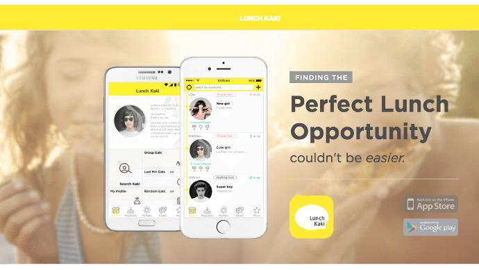 Singapore social app Lunch Kaki appoints new CEO, chatbot in the works