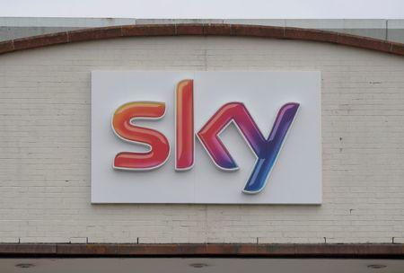 The Sky News logo is seen on the outside of offices and studios in west London, Britain June 29, 2017. REUTERS/Toby Melville - RC169E7744A0