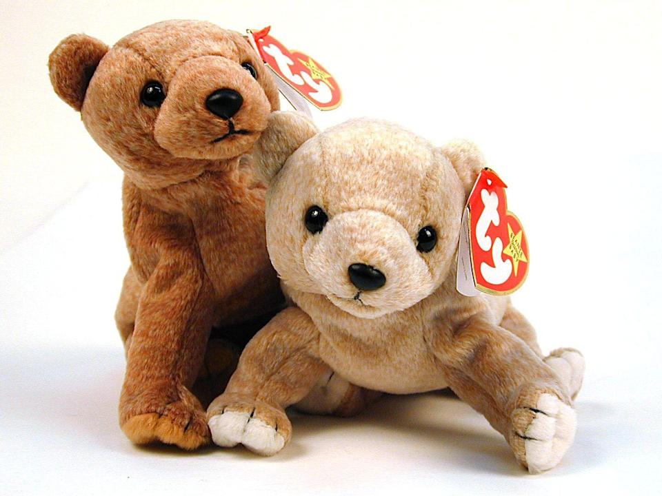"""<p>The plush collectable toys that were popular in the 1990s have massive resale value on sites like Ebay, especially if the tag is still attached and the item is in mint condition. Some of the limited edition toys have sold for up to half a million dollars online. For example, one of the original Beanie Babies—<a href=""""https://go.redirectingat.com?id=74968X1596630&url=https%3A%2F%2Fwww.ebay.com%2Fitm%2F323766523387&sref=https%3A%2F%2Fwww.menshealth.com%2Ftrending-news%2Fg33657156%2Fvaluable-antiques%2F"""" rel=""""nofollow noopener"""" target=""""_blank"""" data-ylk=""""slk:a lobster named Pinchers"""" class=""""link rapid-noclick-resp"""">a lobster named Pinchers</a>—sells for $35,000. </p><p><strong>What it's worth:</strong> Up to $500,000</p>"""