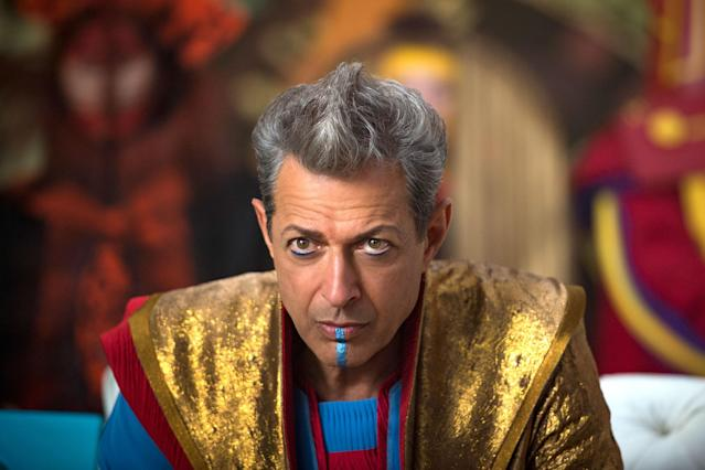 Jeff Goldblum in <em>Thor: Ragnarok. </em>(Photo: Marvel Studios)