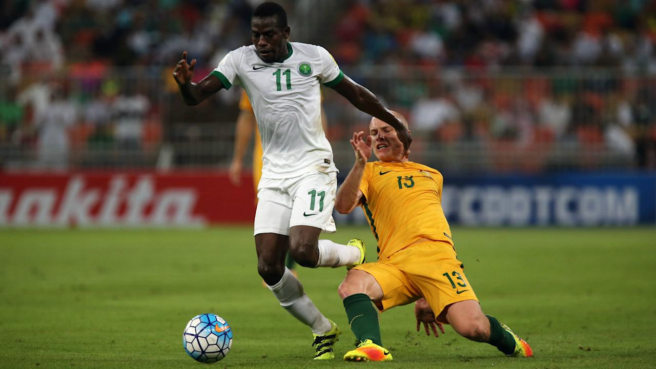 The Green Falcons are expected to sit back in Adelaide and try and hit Australia on the counterattack