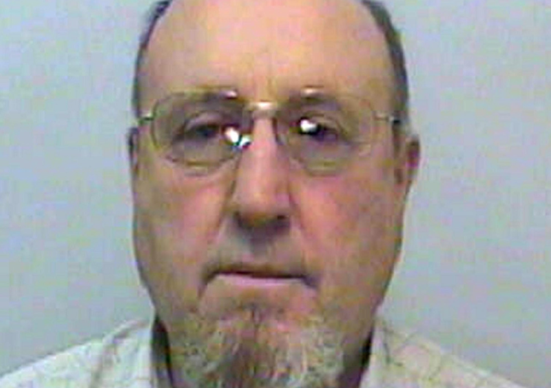 Peter Norsworthy pictured in a mugshot from 2006. (SWNS)