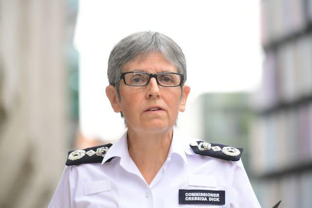 Dame Cressida Dick spoke at the Police Superintendents' Association Annual Conference on Tuesday