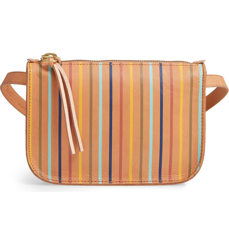 "<p>How much fun is this <a href=""https://www.popsugar.com/buy/Madewell-Simple-Rainbow-Stripe-Pouch-Belt-Bag-484483?p_name=Madewell%20The%20Simple%20Rainbow%20Stripe%20Pouch%20Belt%20Bag&retailer=shop.nordstrom.com&pid=484483&price=50&evar1=fab%3Aus&evar9=46550460&evar98=https%3A%2F%2Fwww.popsugar.com%2Ffashion%2Fphoto-gallery%2F46550460%2Fimage%2F46550462%2FMadewell-Simple-Rainbow-Stripe-Pouch-Belt-Bag&list1=shopping%2Cbags%2Csale%2Csale%20shopping%2Chandbags&prop13=api&pdata=1"" rel=""nofollow"" data-shoppable-link=""1"" target=""_blank"" class=""ga-track"" data-ga-category=""Related"" data-ga-label=""https://shop.nordstrom.com/s/madewell-the-simple-rainbow-stripe-pouch-belt-bag/5254276?origin=category-personalizedsort&amp;breadcrumb=Home%2FSale%2FWomen%2FHandbags%20%26%20Wallets&amp;color=rnbw%20stripe%2F%20camel"" data-ga-action=""In-Line Links"">Madewell The Simple Rainbow Stripe Pouch Belt Bag</a> ($50, originally $68)?</p>"