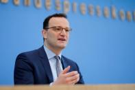 German Health Minister Spahn and the head of RKI Wieler hold a news conference in Berlin