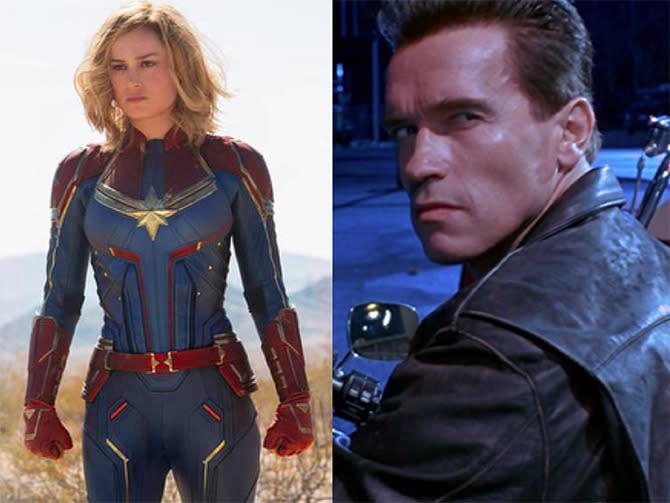Captain Marvel - Terminator 2
