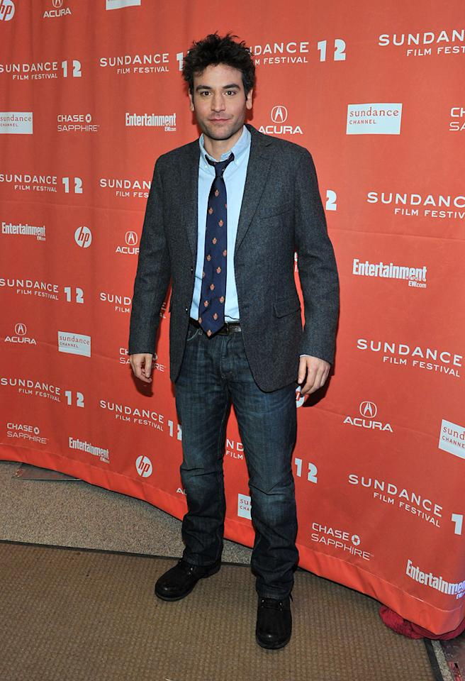 "Josh Radnor at the 2012 Sundance Film Festival premiere of ""Liberal Arts"" on January 22, 2012.<br>"