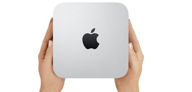 Apple's Mac mini desktop.