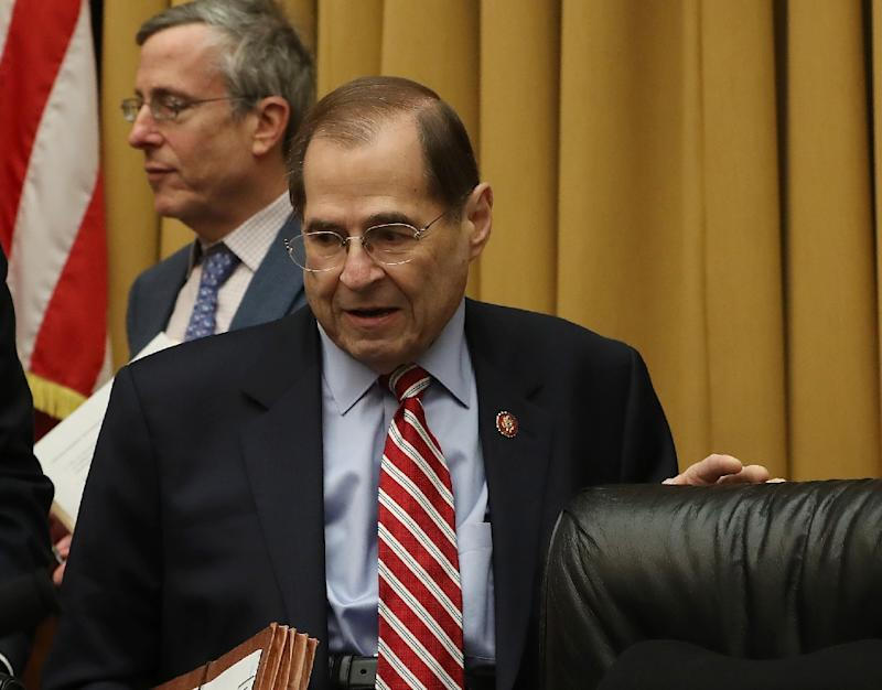 "Representative Jerrold Nadler, chairman of the House Judiciary Committee, says a report by Special Counsel Robert Mueller showed ""disturbing evidence"" of obstruction of justice by President Donald Trump"