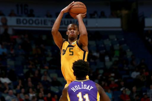 Rodney Hood is averaging a career-high 16.8 points. (Getty)