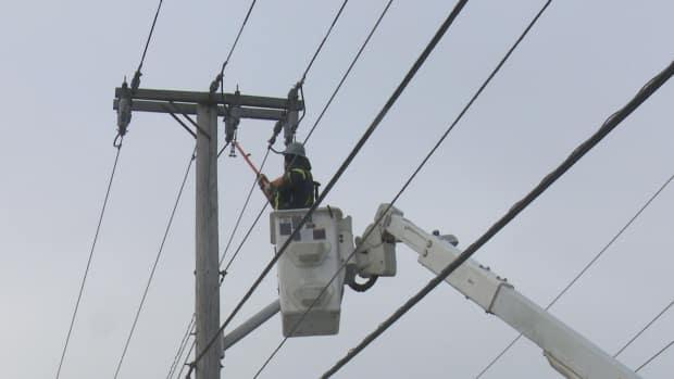 Strong winds have caused power outages across the province, particularly in the Moncton, Riverview and Dieppe areas. (Radio-Canada - image credit)