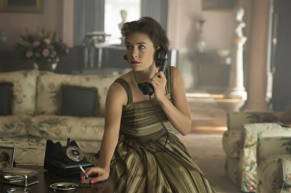"""Vanessa Kirby was nominated for an Emmy for her portrayal of the queen's sister, Princess Margaret, in the first two seasons of """"The Crown."""""""