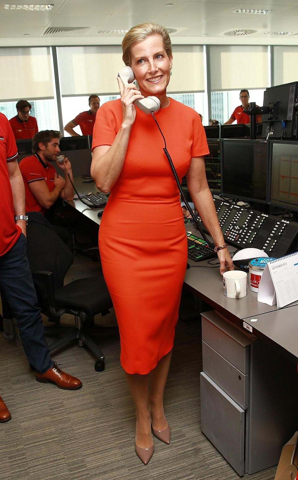 <p>Channelling the sixties in September 2015 [Photo: Getty] </p>