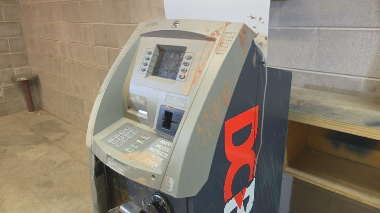 Charges laid after ATM stolen using small tractor