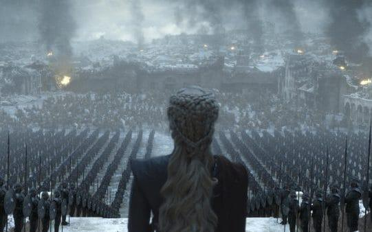Daenerys addresses the troops - HBO