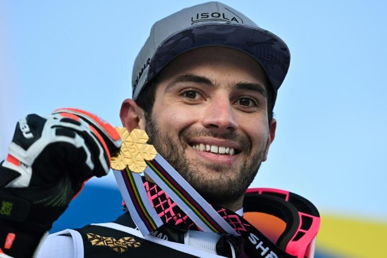 France's Mathieu Faivre was happy with his gold