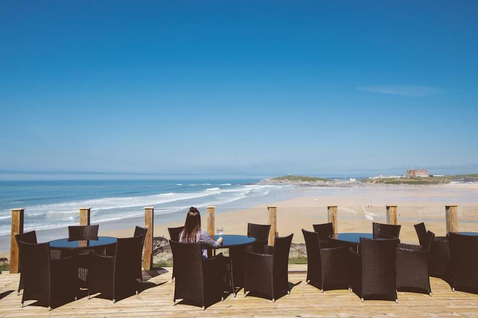 "<p>This adults-only hotel in Cornwall affords not only a terrific location overlooking surfing beach Fistral, but a top-notch ESPA spa for you to unwind with treatments and in the sauna or hot tub. </p><p>At <a href=""https://go.redirectingat.com?id=127X1599956&url=https%3A%2F%2Fwww.booking.com%2Fhotel%2Fgb%2Ffistral-beach-and-spa.en-gb.html%3Faid%3D1922306%26label%3Dbest-cornwall-hotels&sref=https%3A%2F%2Fwww.goodhousekeeping.com%2Fuk%2Flifestyle%2Ftravel%2Fg35535653%2Fbest-hotels-in-cornwall%2F"" rel=""nofollow noopener"" target=""_blank"" data-ylk=""slk:Fistral Beach Hotel and Spa"" class=""link rapid-noclick-resp"">Fistral Beach Hotel and Spa</a>, the Dune Restaurant has floor-to-ceiling windows for you to watch the waves as you dine and the Bay Bar is perfect for relaxing with a drink. If the weather plays up, you can swap the beach for the indoor swimming pool at this wonderful hotel for grown-ups.</p><p><a class=""link rapid-noclick-resp"" href=""https://go.redirectingat.com?id=127X1599956&url=https%3A%2F%2Fwww.booking.com%2Fhotel%2Fgb%2Ffistral-beach-and-spa.en-gb.html%3Faid%3D1922306%26label%3Dbest-cornwall-hotels&sref=https%3A%2F%2Fwww.goodhousekeeping.com%2Fuk%2Flifestyle%2Ftravel%2Fg35535653%2Fbest-hotels-in-cornwall%2F"" rel=""nofollow noopener"" target=""_blank"" data-ylk=""slk:CHECK AVAILABILITY"">CHECK AVAILABILITY</a></p>"