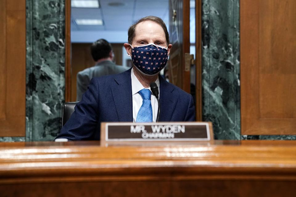 Sen.Ron Wyden (D-Ore.) plans to introduce legislation this week that would reform the unemployment system, but it's not clear where it fits in with Senate Democrats' agenda. (Photo: Photo by Greg Nash-Pool/Getty Images)