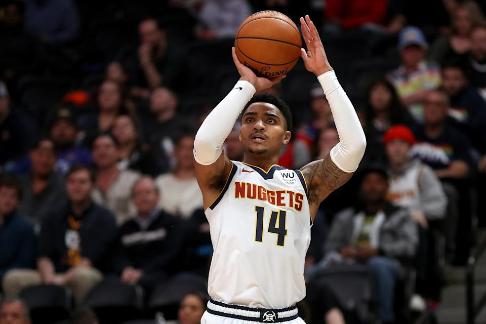 Gary Harris #14 of the Denver Nuggets