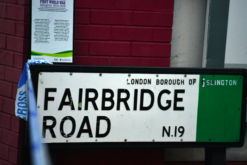 The stabbing took place on Fairbridge Road, Islington (Picture: PA)