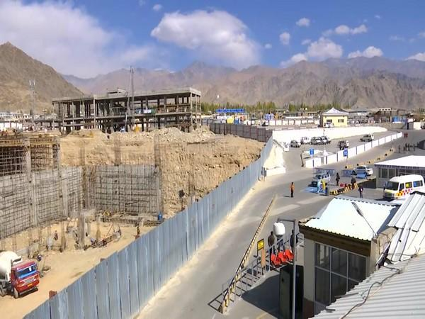 The new terminal of Leh airport is expected to be ready by the end of 2022.