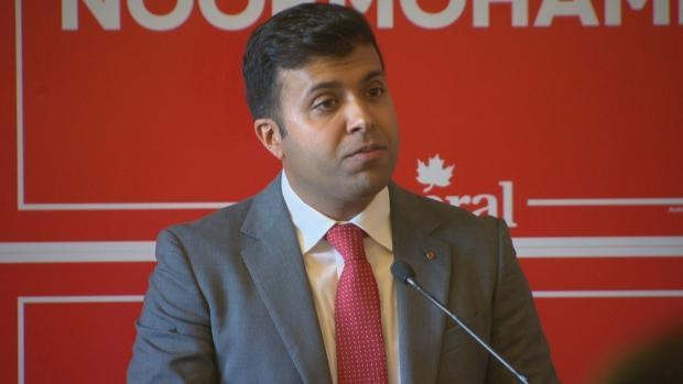 Taleeb Noormohamed has been declared the winner in the Vancouver Granville riding, after an extremely tight race.  (Nic Amaya/CBC News - image credit)