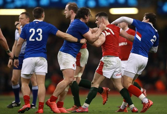 France unlined their title credentials, battling past Wales 27-23 in Cardiff