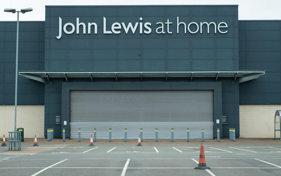 The John Lewis at home store in Croydon will not reopen