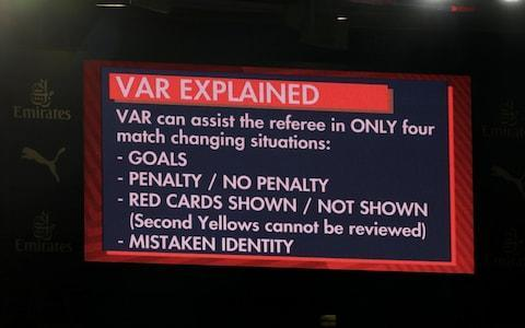 """England's bid to acclimatise to video technology ahead of the World Cup has suffered a double setback after it was confirmed it would not feature in their warm-up matches against Holland or Costa Rica - half their remaining fixtures. The Dutch Football Association told the Telegraph plans to use the Video Assistant Referee system in Friday night's friendly in Amsterdam had been scrapped because Spanish referee Jesús Gil Manzano and his team had """"too little experience"""" using it. The Football Association also confirmed its decision to stage England's farewell fixture before Russia 2018 at Elland Road meant there would be no VAR in that June 7 game against Costa Rica either. That is because only the grounds of Premier League clubs have been vetted for video technology within the English game and Leeds United are currently in the Championship. That leaves only England's respective Wembley friendlies against Italy and Nigeria, on Tuesday night and June 2, for Gareth Southgate and his players to become properly accustomed to playing in VAR games before the World Cup. England's friendlies against Holland and Costa Rica will not feature VAR Credit: Reuters The country's last three non-competitive matches, against France, Germany and Brazil, were all part of the two-year global trials of video technology ordered by the sport's rulemakers, the International Football Association Board, back in 2016. But Friday night's friendly was the first opportunity for England to play in such a match since IFAB voted this month to change the Laws of the Game to include VAR and Fifa voted for it to be used in every World Cup game. Although some of Southgate's players would also have played in club matches using video technology during the trials in this season's FA Cup and Carabao Cup, they will have far less experience of it than their counterparts such as world champions Germany, with the Bundesliga having adopted it in every match. And there is plenty about VAR that will need to become s"""