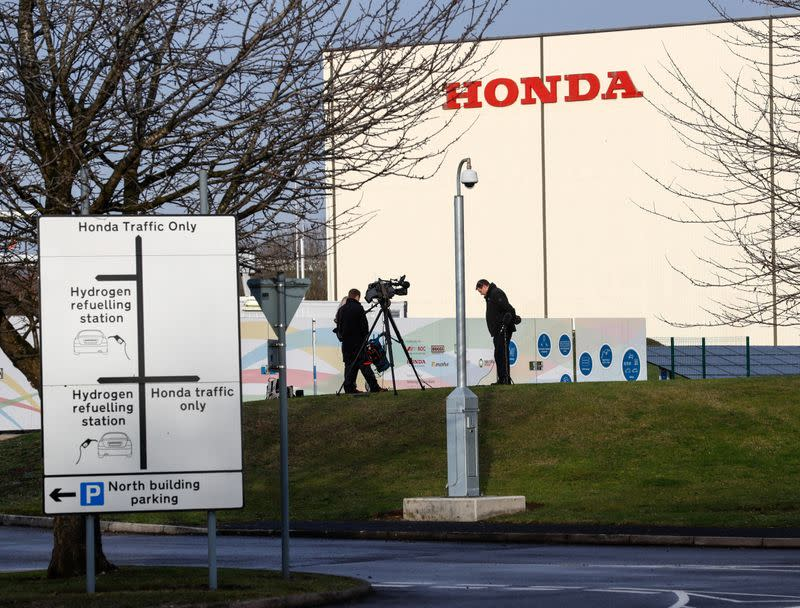 Honda to move some UK production back to Japan in 2021 -Nikkei