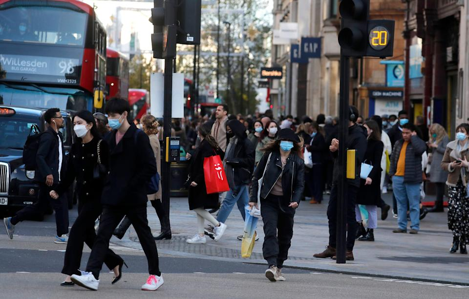 <p>Millions of Londoners will face tougher Tier 2 restrictions next week</p> (AP)