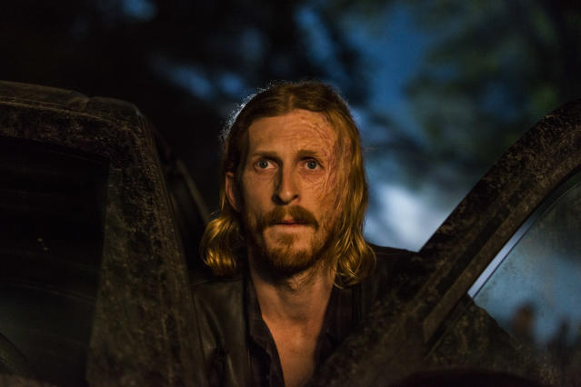 <p>Austin Amelio as Dwight in AMC's <i>The Walking Dead</i>.<br>(Photo: Gene Page/AMC) </p>