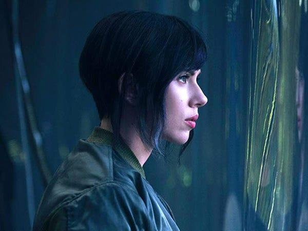 """""""Ghost in the Shell"""" is based on a Japanese manga."""
