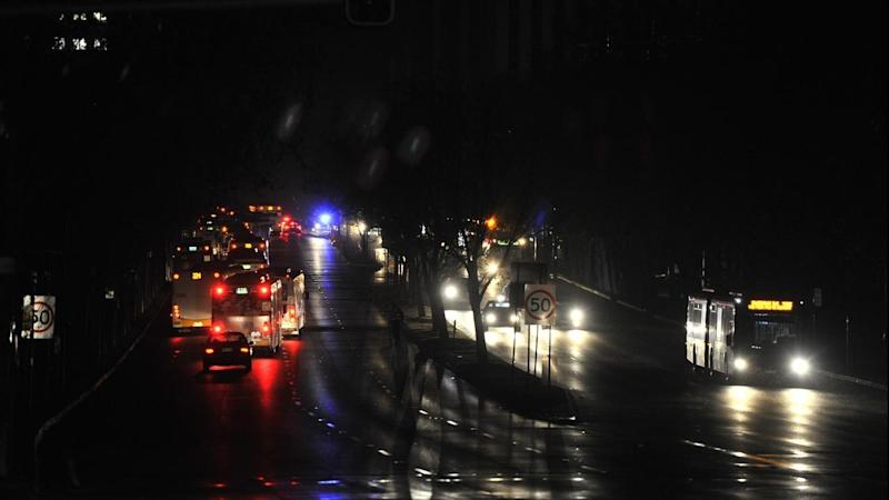 Motorists in Adelaide are being urged to take care with traffic lights out after a power outage.