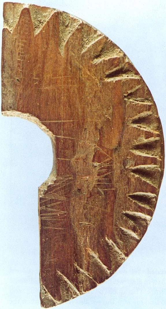 The Uunartoq disc was discovered in an 11th century convent in Greenland in 1948. It is thought to have been used as a compass by the Vikings as they traversed the North Atlantic Ocean from Norway to Greenland.
