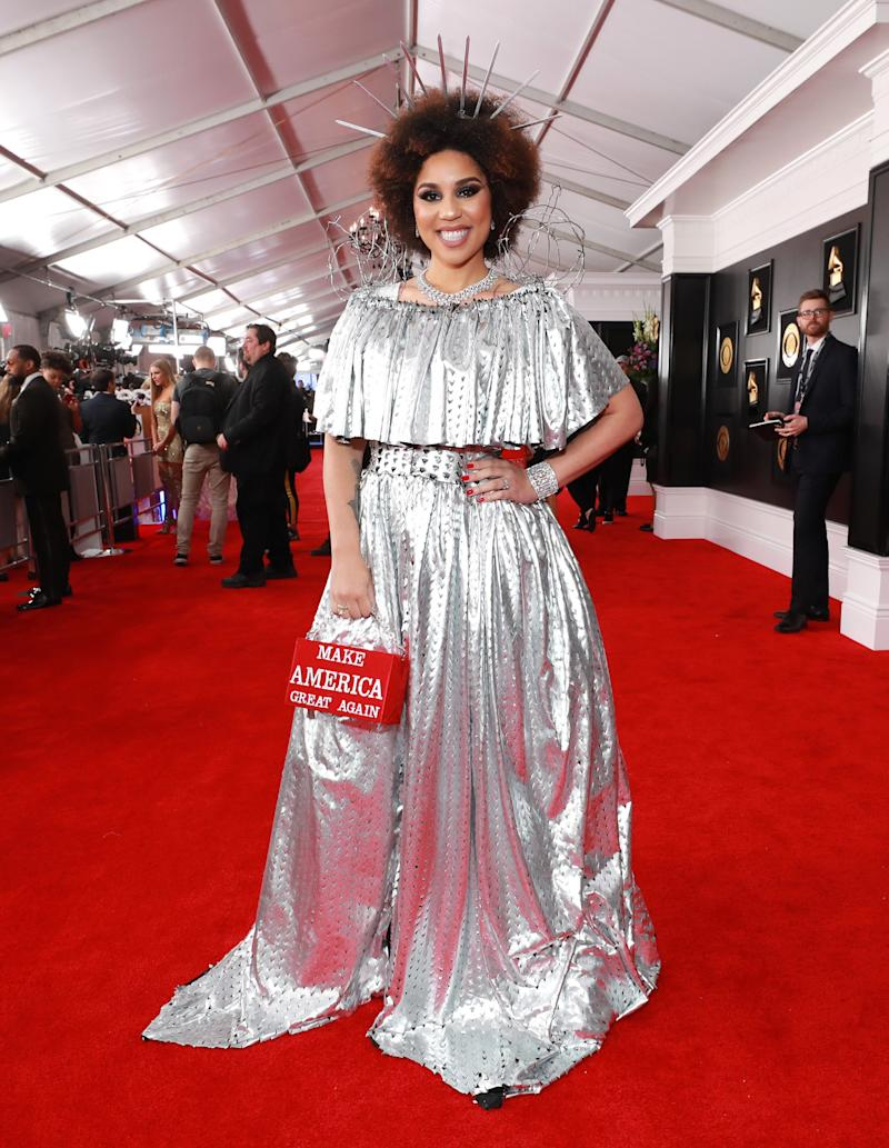 Joy Villa attends the 2019 Grammy Awards at Staples Center on Feb. 10 in Los Angeles. (Rich Fury via Getty Images)