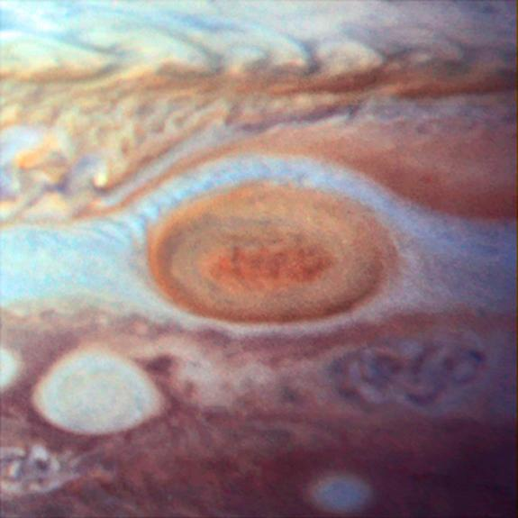 Jupiter's Great Red Spot seen in 1995. Image released May 15, 2014.