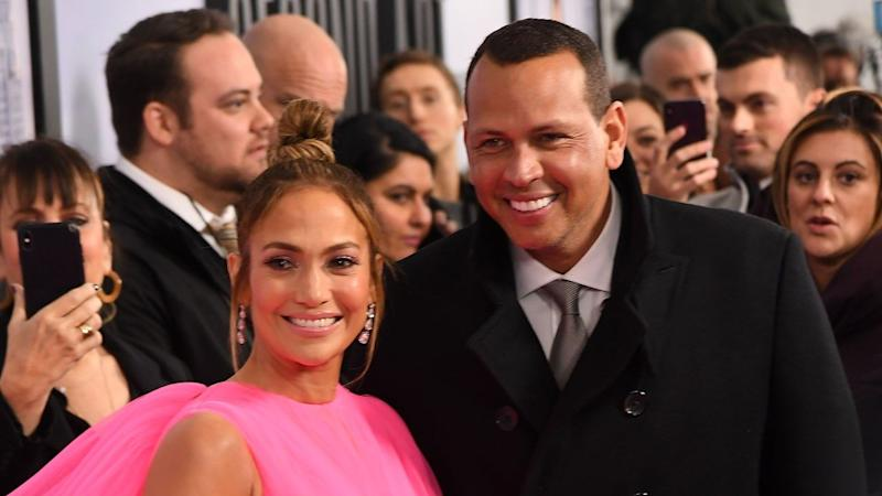 Jennifer Lopez and Alex Rodriguez Cruise to Cardi B Song in Car She Gifted Him -- Watch!