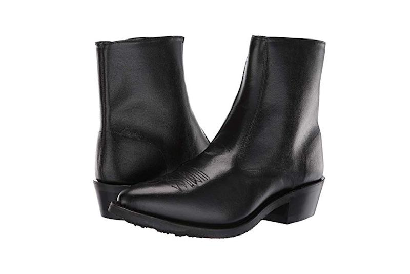 old west heeled boots