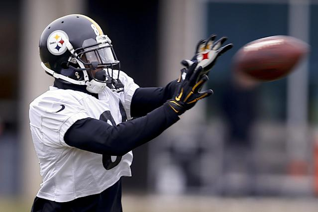 The Pittsburgh Steelers have rewarded Antonio Brown with a massive extension. (AP)