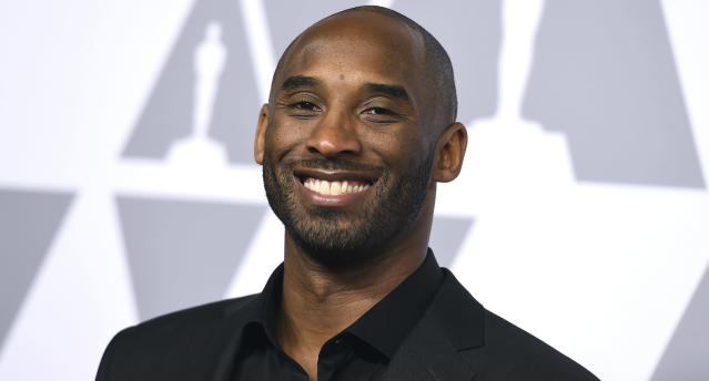 "Former NBA star <a class=""link rapid-noclick-resp"" href=""/ncaaf/players/285862/"" data-ylk=""slk:Kobe Bryant"">Kobe Bryant</a> was supposed to spend this weekend on the jury of the Animation Is Film Festival in L.A., but those plans have changed. (Getty Images)"