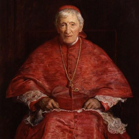 A portrait of Cardinal Newman by Sir John Everett Millais hangs in the National Portrait Gallery - Credit: Bridgeman Art Library