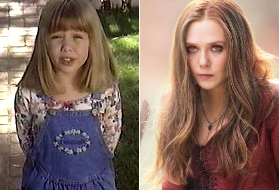 <p>It's no surprise that the younger sister to Mary-Kate and Ashley made her acting debut in one of the Olsen twin movies when she was just 5-years old. In <i>Captain America: Civil War</i> Olsen makes her second appearance as the newest Avenger Scarlet Witch. <i>(Photo: ABC/Marvel)</i></p>