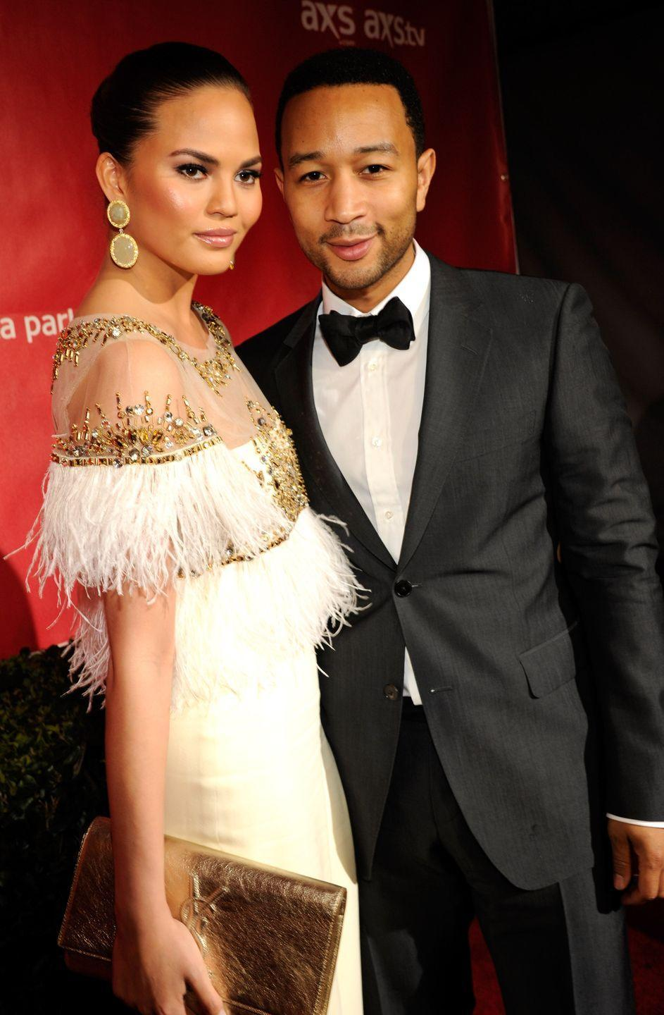 """<p>It doesn't get sweeter than this heartfelt John Legend song. Chrissy Teigen said she knew right away that the song was about her. """"The first line of it is 'What would I do without your smart mouth,' so if that's not about me I don't know what is,"""" she told the <a href=""""https://www.huffpost.com/entry/john-legend-all-of-me_n_3240630"""" data-ylk=""""slk:Huffington Post"""" class=""""link rapid-noclick-resp"""">Huffington Post</a>. </p>"""