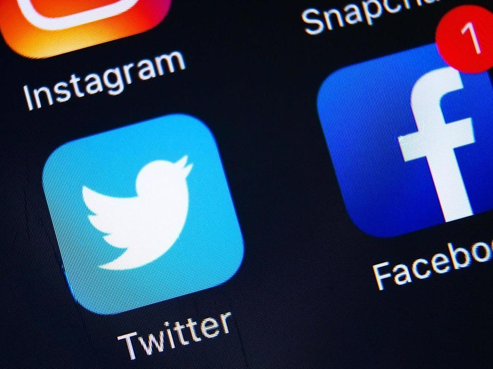 Social media has become a vehicle for abuse (Getty)