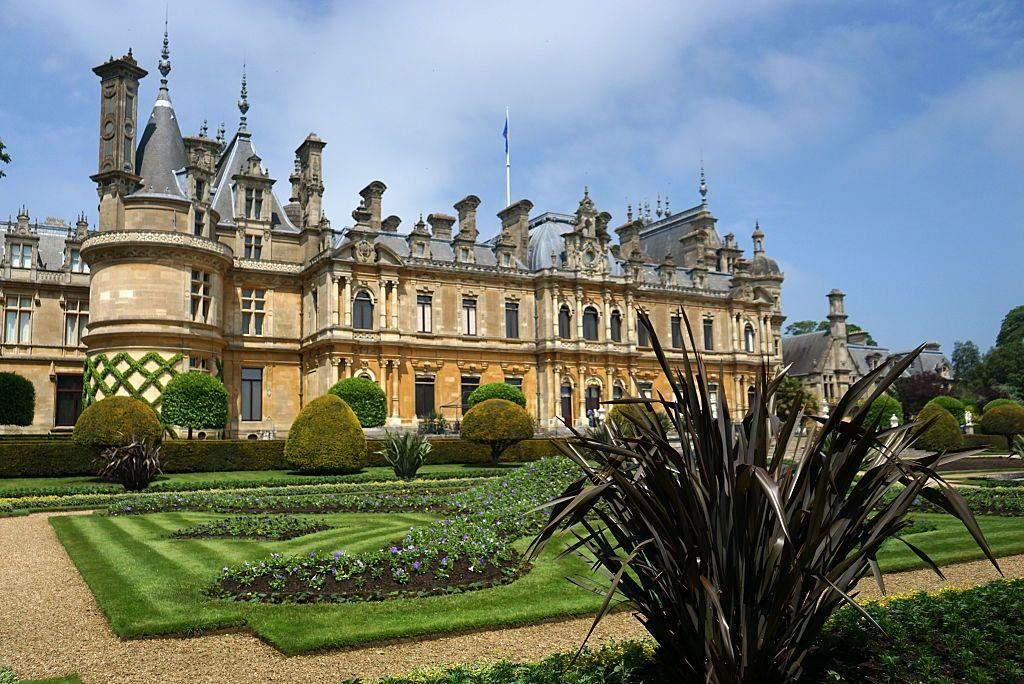 """<p>The Waddesdon Manor is a Neo-Renaissance style château that has been a Rothschild family home since the late 1800s, with its first owner being Baron Ferdinand de Rothschild and its last owner being James de Rothschild. After his death in 1959, James de Rothschild left the house, the grounds, and the majority of the collections seen throughout the home to the National Trust, so that the public can visit and appreciate the home and gardens. Since then, the Rothschild Foundation has managed Waddesdon Manor, and it is one of the most visited National Trust sites, garnering upwards of 466,000 visitors in 2018. The gardens were designed by Baron Ferdinand de Rothschild with help from landscape architect Elie Lainé. The breathtakingly beautiful interiors of Waddesdon Manor can also be <a href=""""https://waddesdon.org.uk/the-collection/virtual-tours/"""" target=""""_blank"""">virtually toured here. </a></p><p><a class=""""body-btn-link"""" href=""""https://www.youtube.com/watch?v=EyYuxTfdtKo"""" target=""""_blank"""">TOUR NOW </a></p>"""