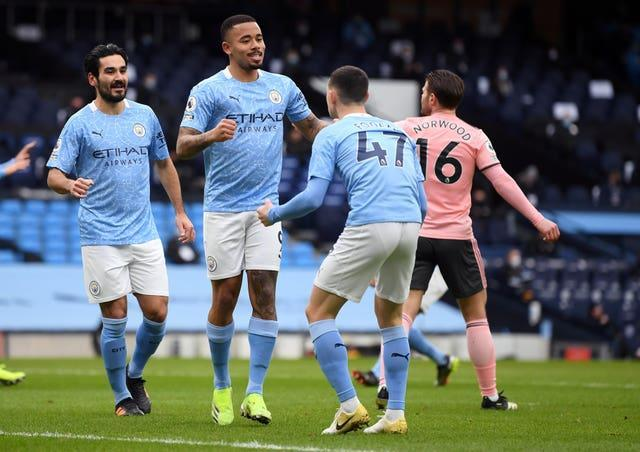 Gabriel Jesus scored the only goal as Manchester City beat Sheffield United 1-0