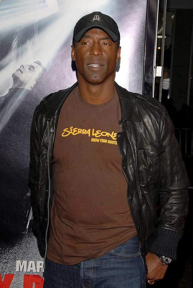 """<a href=""""http://movies.yahoo.com/movie/contributor/1800019746"""">Isaiah Washington</a> at the Los Angeles premiere of <a href=""""http://movies.yahoo.com/movie/1810007086/info"""">Max Payne</a> - 10/13/2008"""