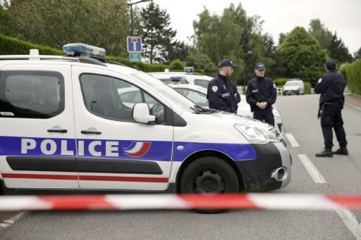 Two held over French cop killing: police source